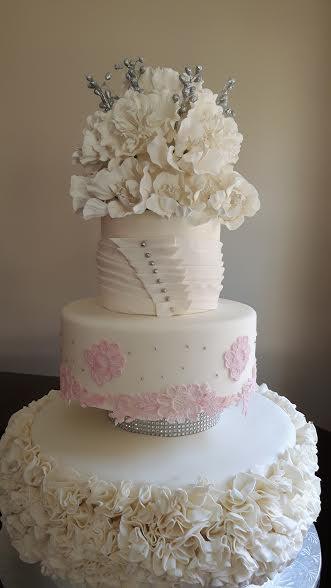 Designer Cake - Peony Love