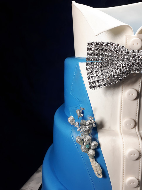 Designer Birthday Cake - Mr Fantastic