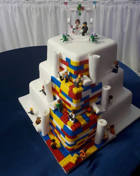 Designer Wedding Cake - Lego My Lego!