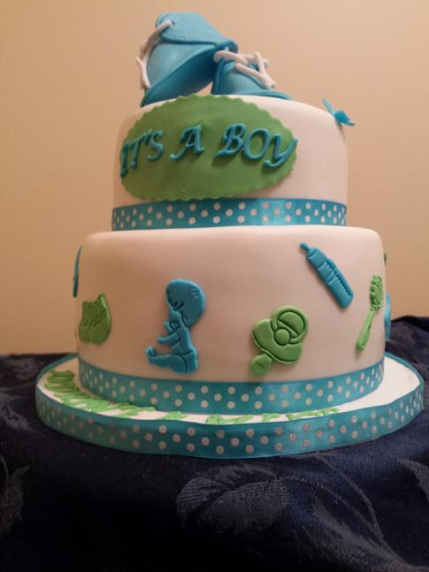 Designer Cake - Blue Clue