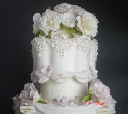 Designer Wedding Cake -  Sh'e Royal
