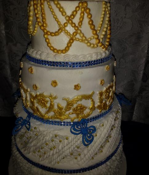 Designer Birthday Cake - Splash of God
