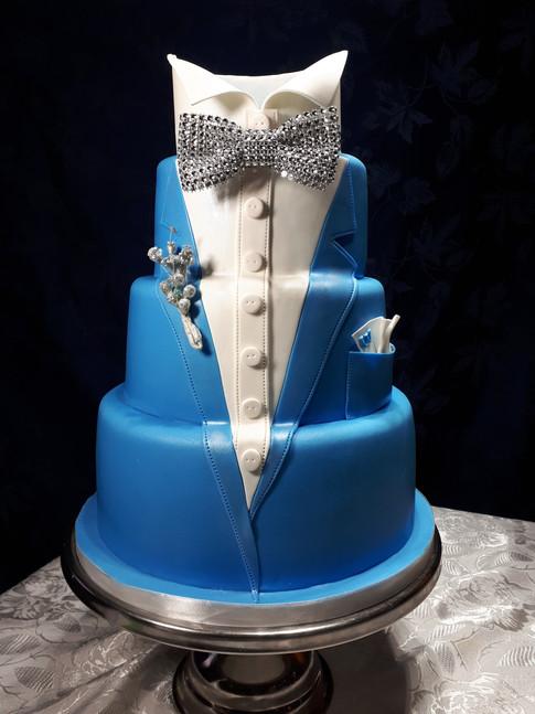 Designer Birthday Cake - Mr Fantastic!