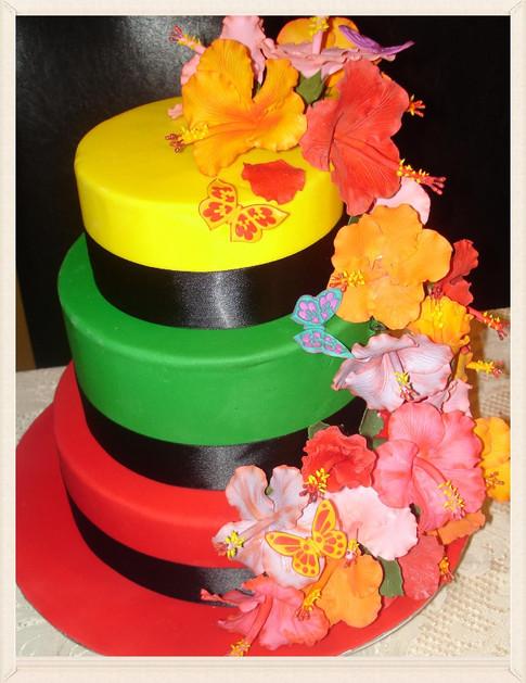 Designer Wedding Cake - Irie