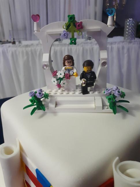 Designer Wedding Cake - Lego My Lego