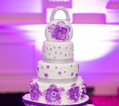 Designer Birthday Cake - Pretty Petals