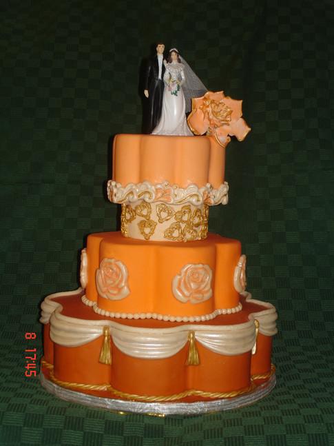 Designer Wedding Cake - My Love