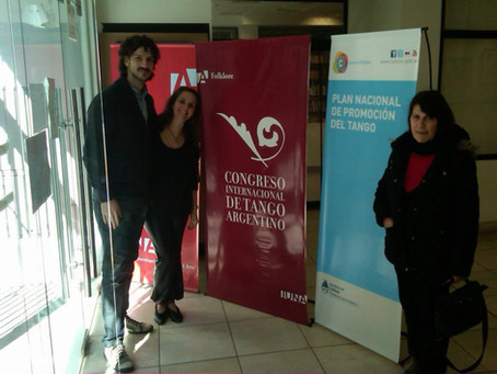 Congreso Internacional de Tango Argentino organizado por la Universidad Nacional de las Artes.