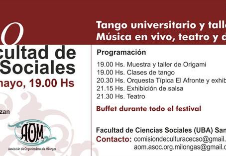 Primer festival de tango Universitario