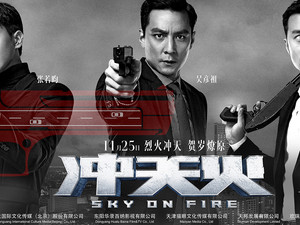 Ma On Shan Bypass- Sky on Fire