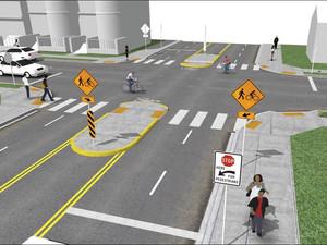 Siu Lun Street- New Signalized Crossing