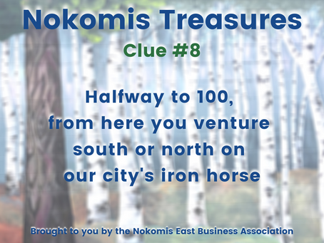 Nokomis Treasures: CLUE #8