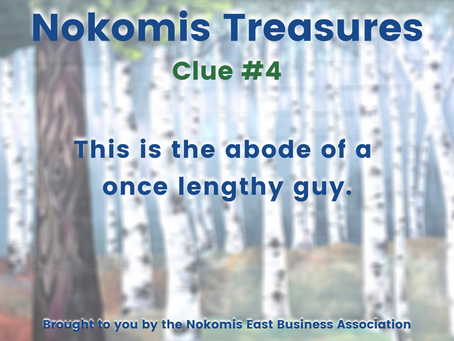 Nokomis Treasures: CLUE #4