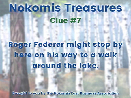 Nokomis Treasures: CLUE #7
