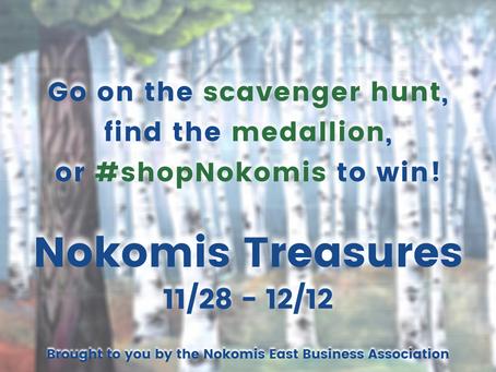 Nokomis Treasures Begins 11/28/2020!