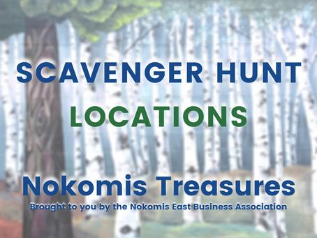 Nokomis Treasures: Clue Answers