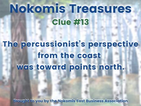 Nokomis Treasures: CLUE #13