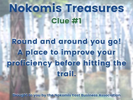 Nokomis Treasures: CLUE #1