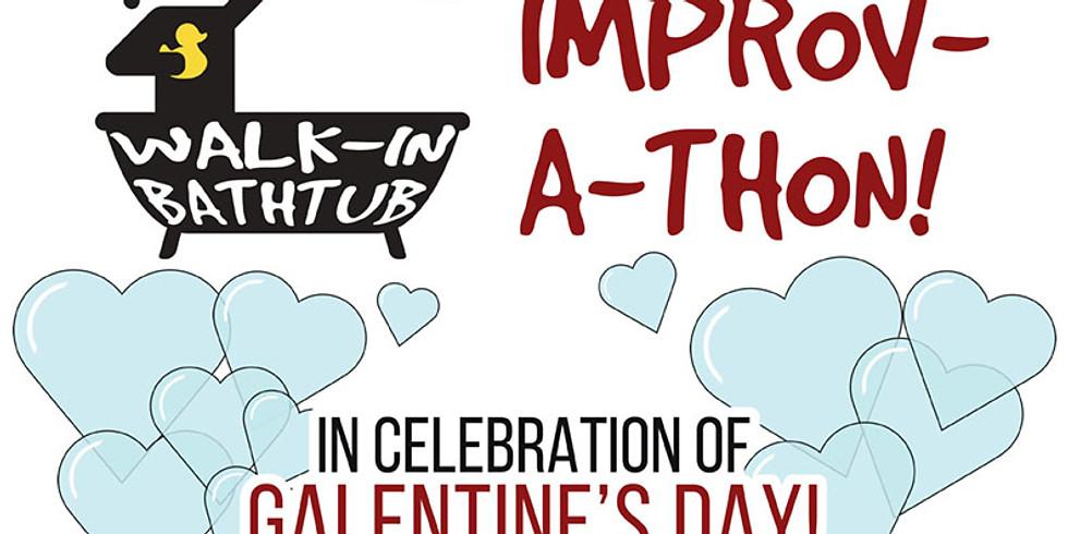 Walk-In Bathtub Improv-A-Thon presents Galentine's Day