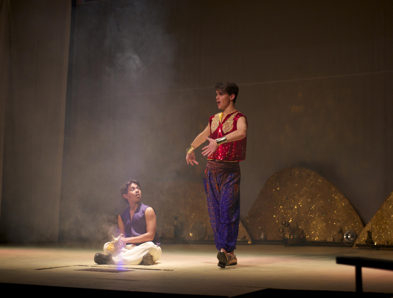 Aladdin Meets Genie