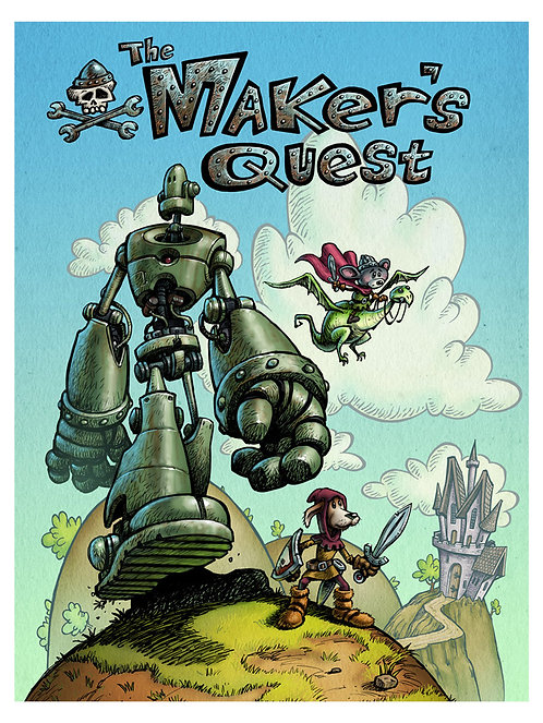 """The Makers Quest"" 12 X 16 Print"