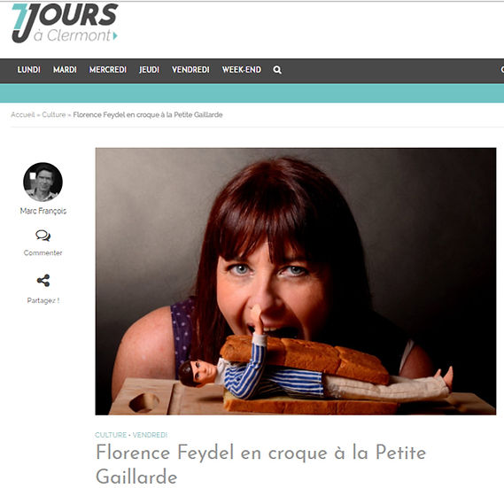 Florence Feydel, humoriste