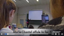 Florence Feydel, humoriste clermont fête ses étudiants marie-chantal