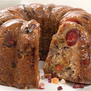 Christmas on a Fork: The Most Delicious, Mouthwatering, Scrumptious, Luscious, Gluten Free Fruit Cak