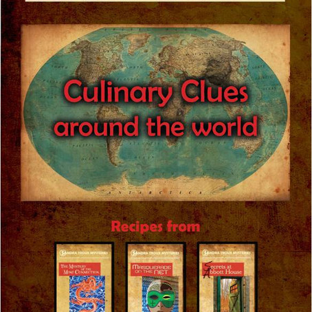 First Sandra Troux Recipe Book Published