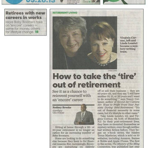 Great Article on STM Co-Authors in USA Today!