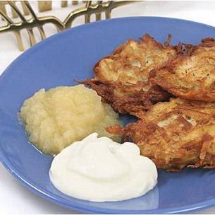 Dreidle, Dreidle, Dreidle - Yummy Latkes for Hanukkah