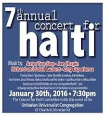 Concert for Haiti Book Signing