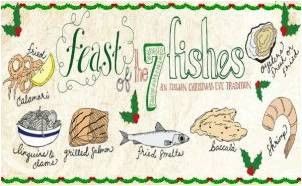 Enjoy a Traditional Feast of 7 Fishes on Christmas Eve