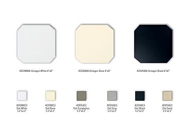 Adex Octagon and Dot Floor Tiles
