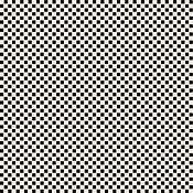 Deco Dantan Petit Mosaique Noir/Blanc