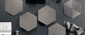 Glamour Cenere Hexagons 13x13