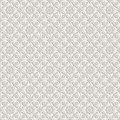 Deco Dantan Fleur Blanc/Gris
