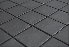 black 2x2 unglazed