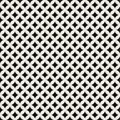 Deco Dantan Etoile Noir/Blanc