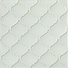 Arabesque White Linen