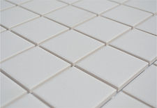 white 2x2 unglazed
