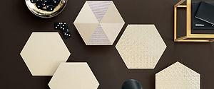 Glamour Miele Hexagons 13x13