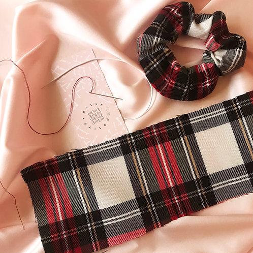 Tartan Scrunchie Making Pack