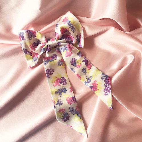 Floral Print Euphrasie Hair Bow