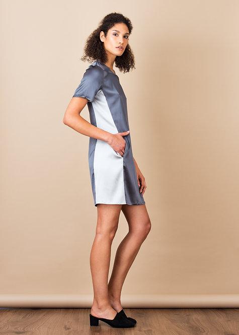 Ayumi Dress Slate Grey