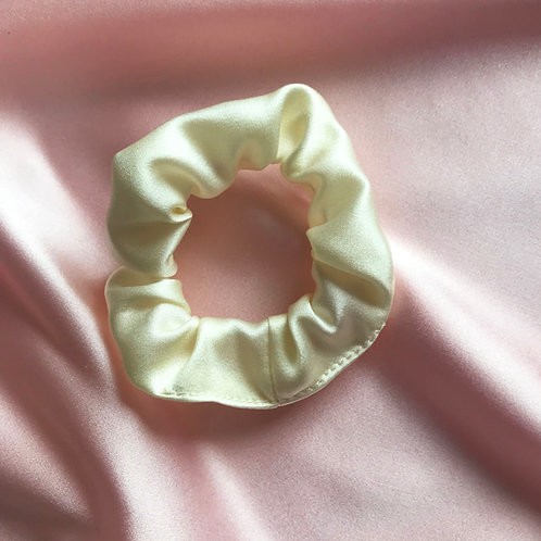 Buttercream Silk Mini Astrid Scrunchie