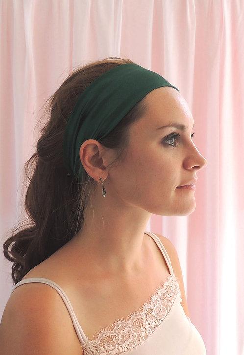 Emerald Silk Anya Headband