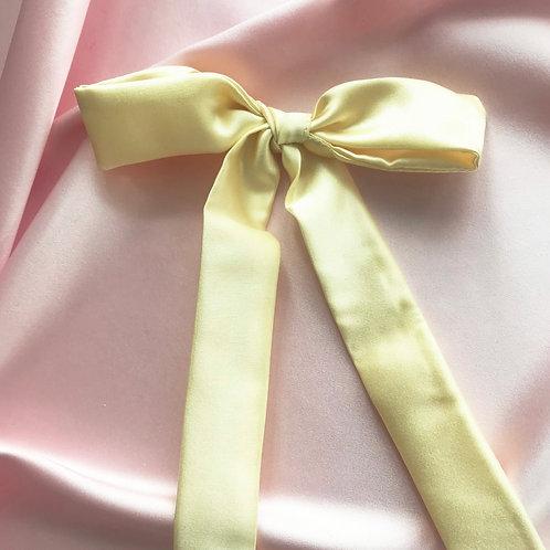 Lemonade Silk Tess Hair Ribbon