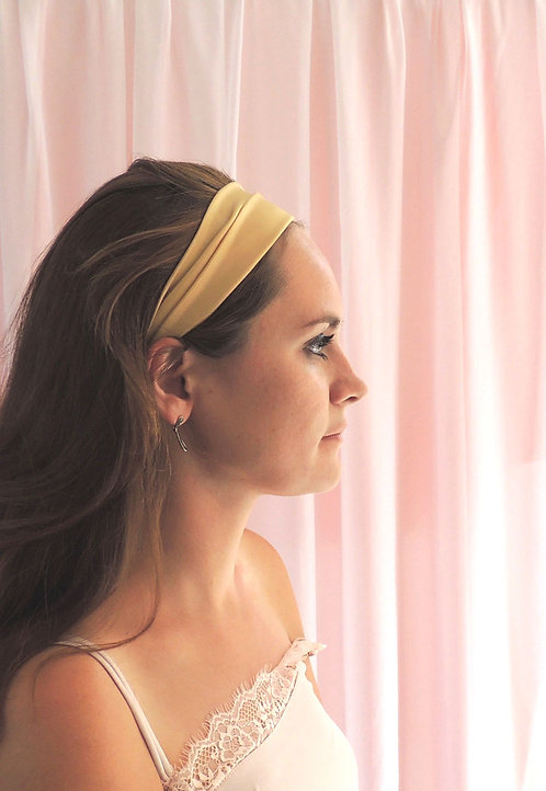 Gold Silk Anya Headband