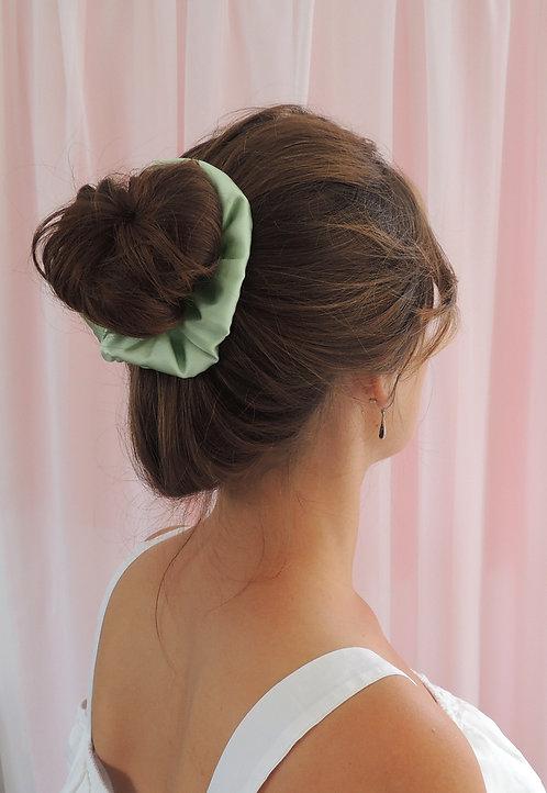 Mint Silk Astrid Scrunchie